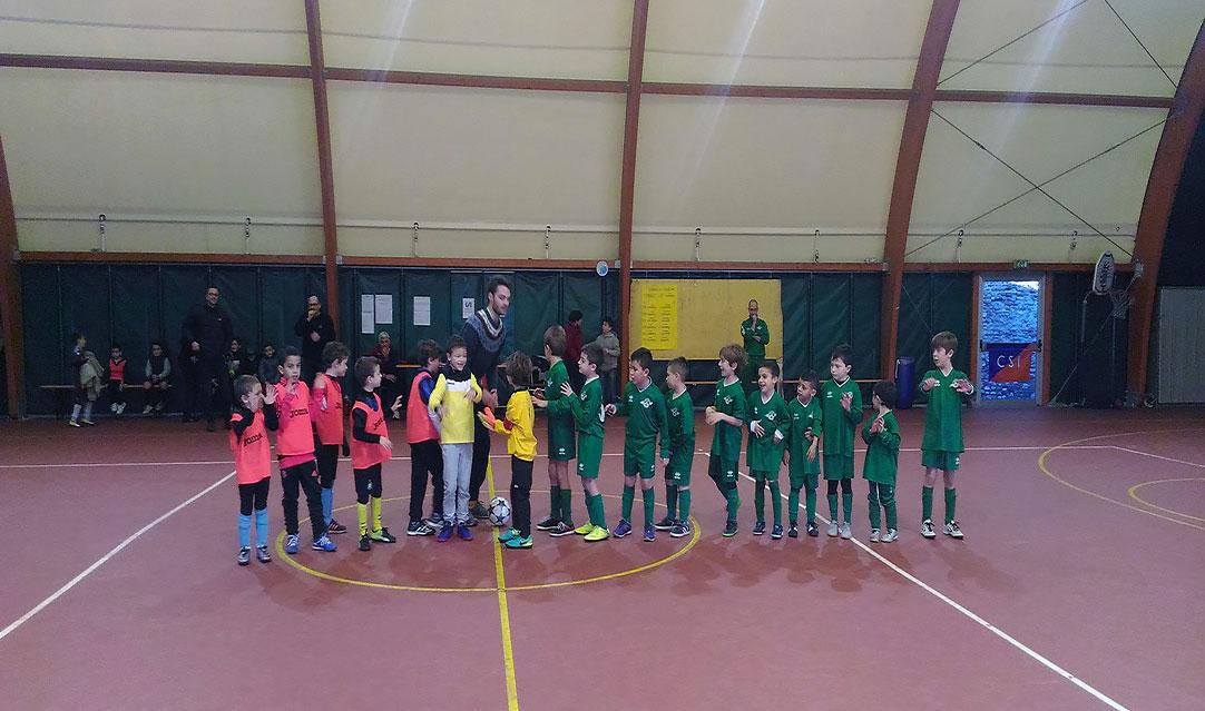 csi varese Il torneo di calcio a 6 promosso dalla zona di Gallarate.L'ingresso in campo.