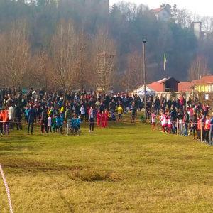 csi varese La campestre zonale di Fagnano Olona La partenza.